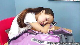 InnocentHigh Schoolteacher boning bony Japanese teenagers taut puss
