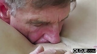Senior Youthful Porno Teenage Dt Deep-throat and Cum-shot Surcease Cootchie Nailing