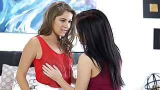 Nubile beauty seduced by Presley Hart