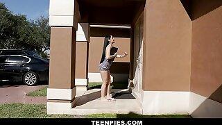 TeenPies - Super-hot Internal cumshot For Super-hot Mexican Nubile Jessica Nubs