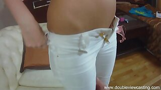 DOUBLEVIEWCASTING.COM - ANGELIC Fantasies TO BE Fucked IN Aggravation (POV VIEW)