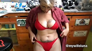 Doll gets fucked and jiggered by a client