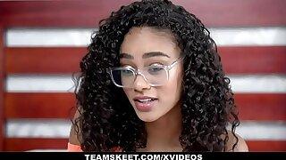 TeenyBlack - Gorgeous Tiny Black Girl Gets Fucked Hardcore By BWC Radiate