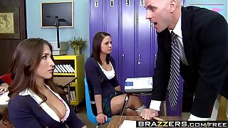Brazzers - Big Tits at School -  A Rumor That Goes Around, Cums Around On Your Tits chapter starring L