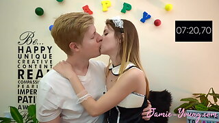 10 Minuten Make Out Compete !! Jamie Young